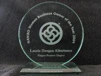 NAWBO Woman Business Owner of the Year 2004